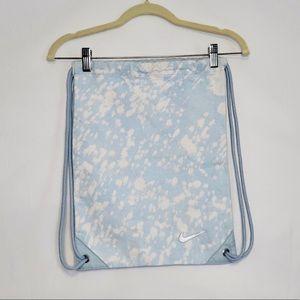 2 for $20! Baby Blue & White Nike Drawstring Bag